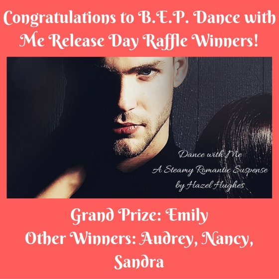 Congratulations to B.E.P. Dance with Me Release Day Raffle Winners!